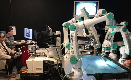 SSI Mantra System - Actin Enables Robotic Surgery