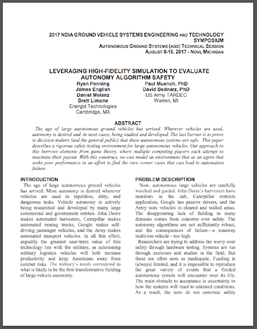 Leveraging Hi-Fidelity Simulation to Evaluate Autonomy Algorithm Safety-079396-edited